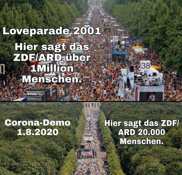 demo berlin fake teilnehmer